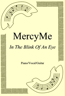 Okładka: MercyMe, In The Blink Of An Eye