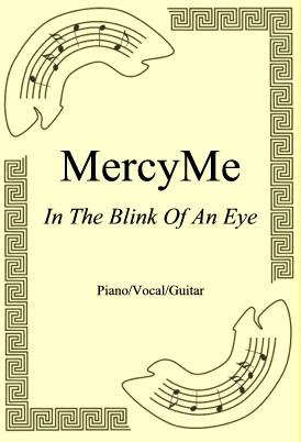 Ok�adka: MercyMe, In The Blink Of An Eye