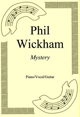 Okładka: Phil Wickham, Mystery