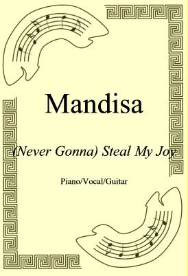 Okładka: Mandisa, (Never Gonna) Steal My Joy
