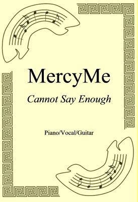 Ok�adka: MercyMe, Cannot Say Enough