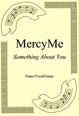 Okładka: MercyMe, Something About You