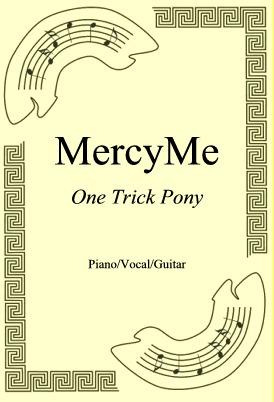 Okładka: MercyMe, One Trick Pony