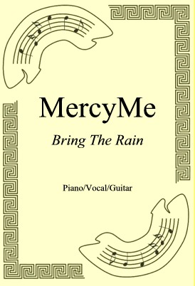 Okładka: MercyMe, Bring The Rain