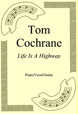 Okładka: Tom Cochrane, Life Is A Highway