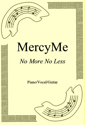 Okładka: MercyMe, No More No Less