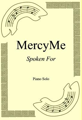 Okładka: MercyMe, Spoken For