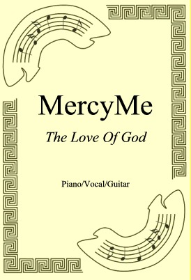 Okładka: MercyMe, The Love Of God