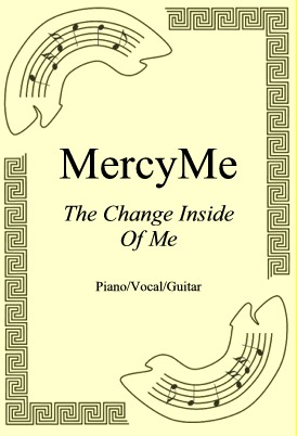 Okładka: MercyMe, The Change Inside Of Me