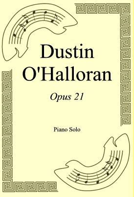 Okładka: Dustin O'Halloran, Opus 21