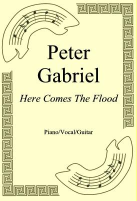 Ok�adka: Peter Gabriel, Here Comes The Flood