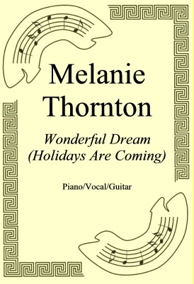 Okładka: Melanie Thornton, Wonderful Dream (Holidays Are Coming)