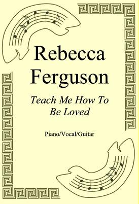 Okładka: Rebecca Ferguson, Teach Me How To Be Loved