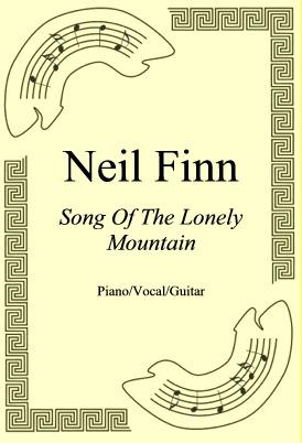 Okładka: Neil Finn, Song Of The Lonely Mountain