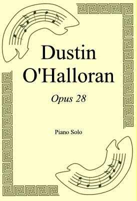 Okładka: Dustin O'Halloran, Opus 28