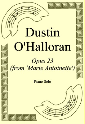 Okładka: Dustin O'Halloran, Opus 23 (from 'Marie Antoinette')