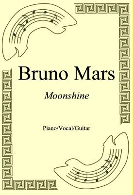 Okładka: Bruno Mars, Moonshine