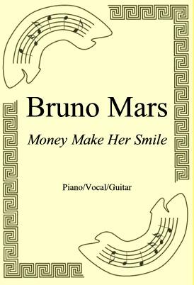 Okładka: Bruno Mars, Money Make Her Smile