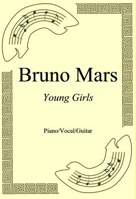 Okładka: Bruno Mars, Young Girls