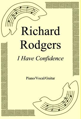 Okładka: Richard Rodgers, I Have Confidence