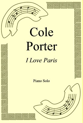 Okładka: Cole Porter, I Love Paris