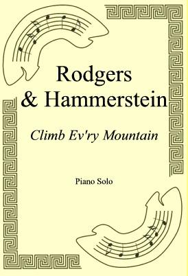 Okładka: Rodgers & Hammerstein, Climb Ev'ry Mountain