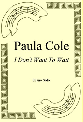 Okładka: Paula Cole, I Don't Want To Wait