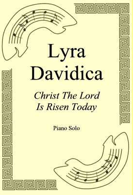 Okładka: Lyra Davidica, Christ The Lord Is Risen Today