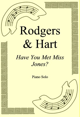 Okładka: Rodgers & Hart, Have You Met Miss Jones?