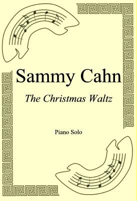 Okładka: Sammy Cahn, The Christmas Waltz