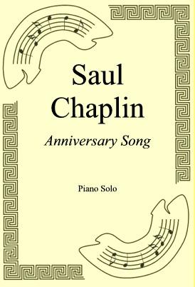 Ok�adka: Saul Chaplin, Anniversary Song