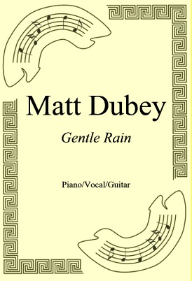 Okładka: Matt Dubey, Gentle Rain