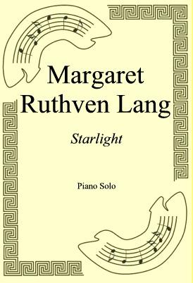 Okładka: Margaret Ruthven Lang, Starlight