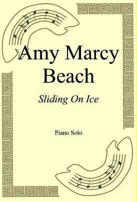 Okładka: Amy Marcy Beach, Sliding On Ice