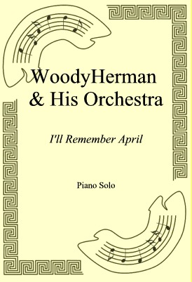 Okładka: Woody Herman & His Orchestra, I'll Remember April