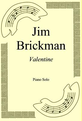 Okładka: Jim Brickman, Valentine