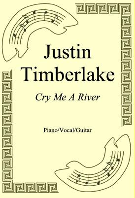 Ok�adka: Justin Timberlake, Cry Me A River