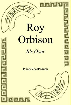 Okładka: Roy Orbison, It's Over