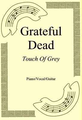Okładka: Grateful Dead, Touch Of Grey