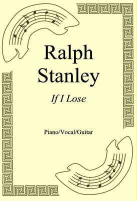 Ok�adka: Ralph Stanley, If I Lose
