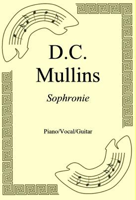 Okładka: D.C. Mullins, Sophronie