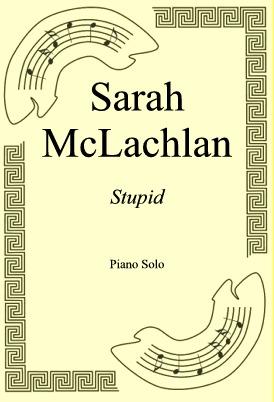 Okładka: Sarah McLachlan, Stupid