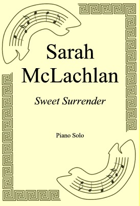 Ok�adka: Sarah McLachlan, Sweet Surrender