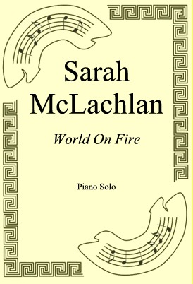 Okładka: Sarah McLachlan, World On Fire