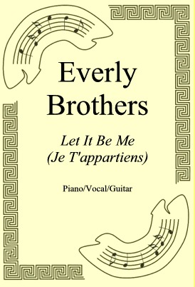 Ok�adka: Everly Brothers, Let It Be Me (Je T'appartiens)