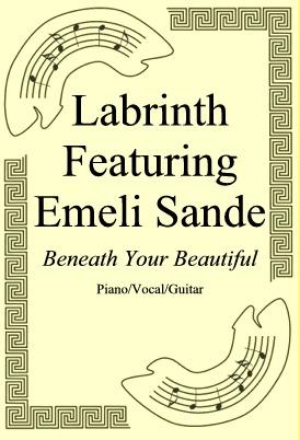 Okładka: Labrinth Featuring Emeli Sande, Beneath Your Beautiful