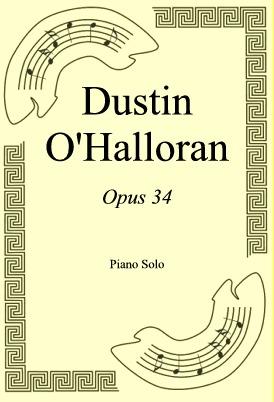 Okładka: Dustin O'Halloran, Opus 34