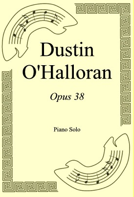 Okładka: Dustin O'Halloran, Opus 38