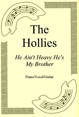Okładka: The Hollies, He Ain't Heavy He's My Brother