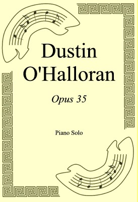 Okładka: Dustin O'Halloran, Opus 35